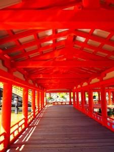 厳島渡り廊下